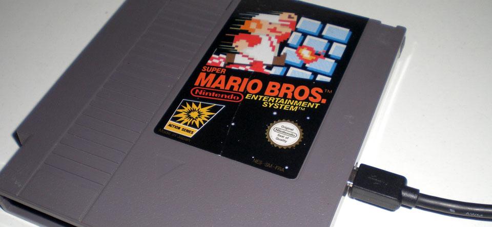 Un Disque dur dans une cartouche NES Mddft