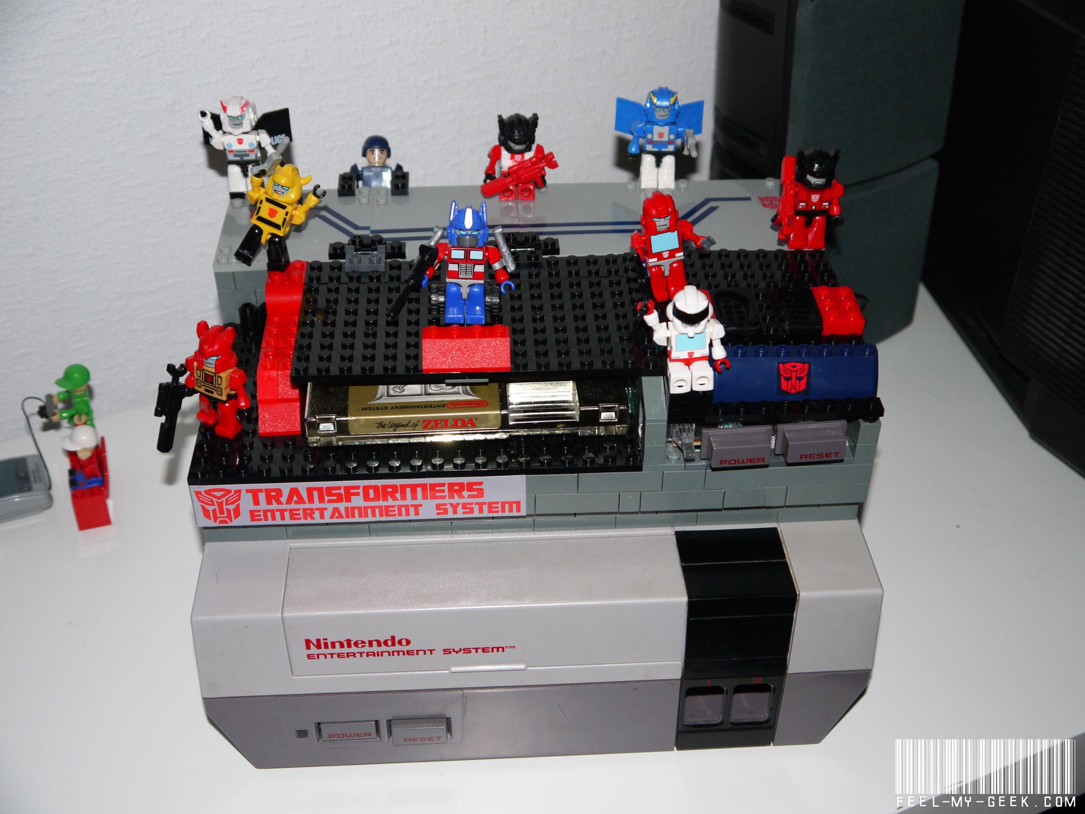 Custom NES Transformers en LEGO, 100% fonctionnelle ! P1010896