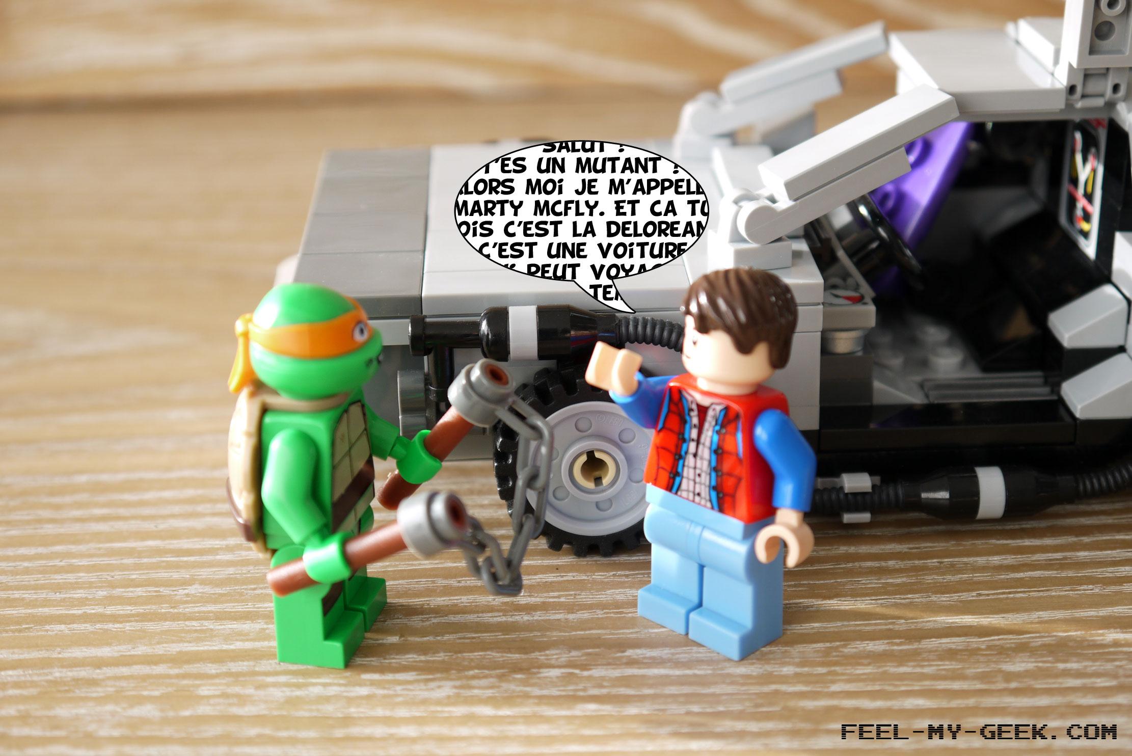 Le pauvre Marty McFly n'a aucune idée de ce qui l'attend...