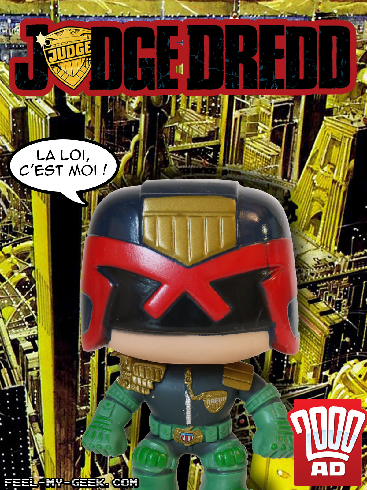 Judge Dredd : La loin c'est moi !