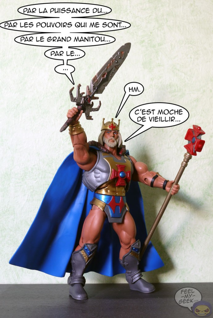 King He-Man MOTUC