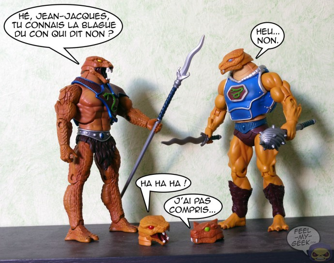 Snake Men MOTUC