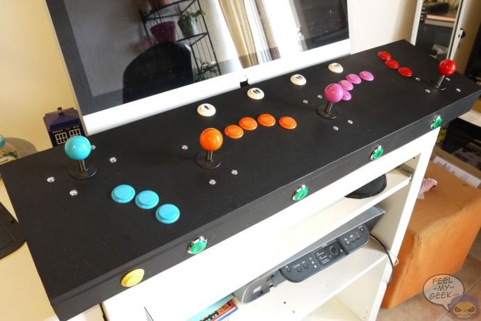 Arcade, baby !!! - Mes bornes, panels et sticks arcade homemade P1060971-690x461