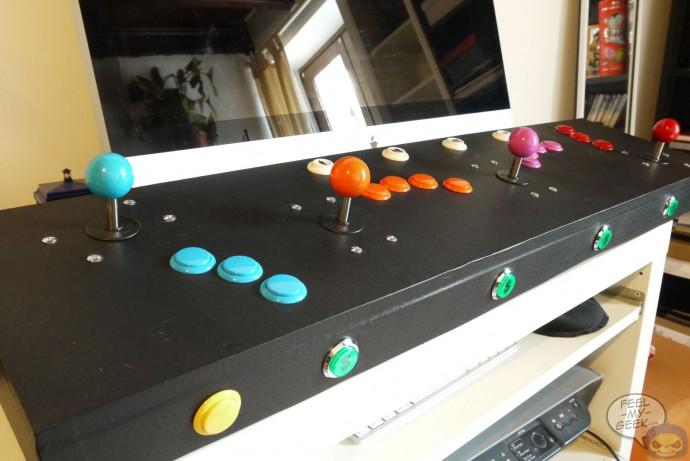 Arcade, baby !!! - Mes bornes, panels et sticks arcade homemade P1060972-690x461