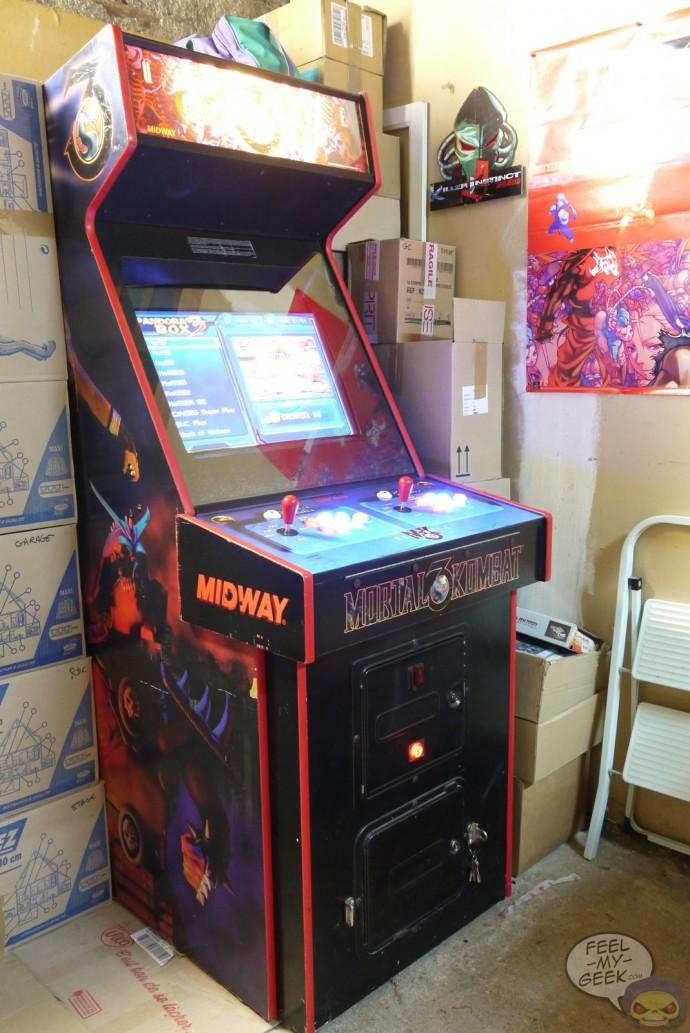 borne arcade homemade
